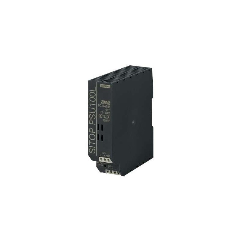 6EP1332-1LB00 Siemens SITOP PSU100L 24 V/2.5 A STABILIZED POWER SUPPLY