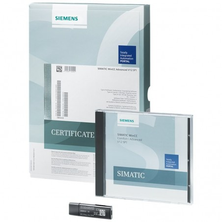 6AV2102-4AA04-0AE5 SIEMENS SIMATIC WINCC ADVANCED V14 UPGRADE WINCC FLEXIBLE 2008 ADVANCED
