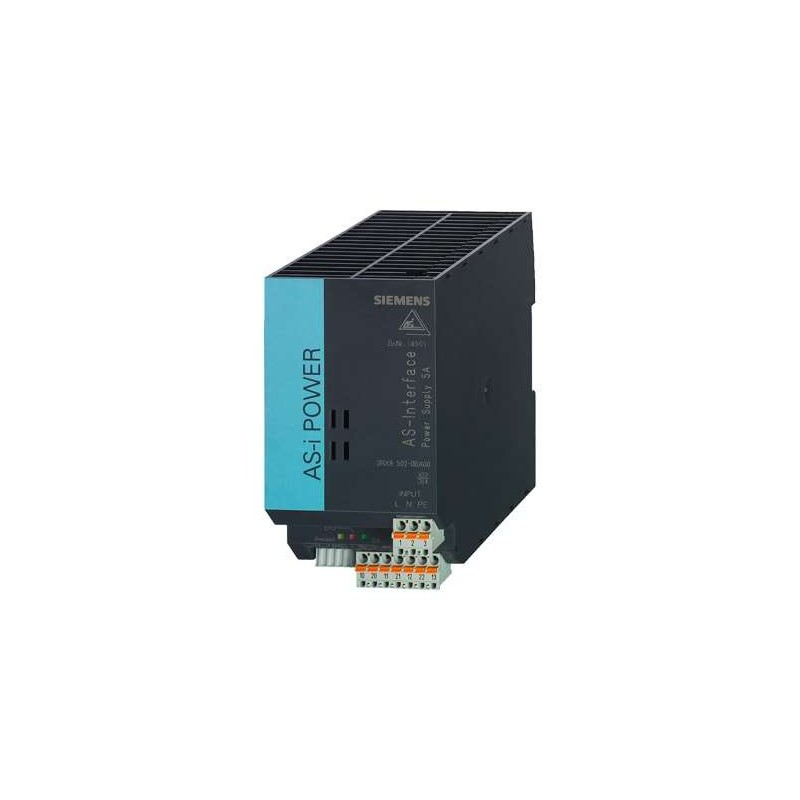 3RX9502-0BA00 SIEMENS AS-I POWER 5A 120V/230VAC IP20, FUENTE DE ALIMENTACIÓN