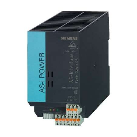 3RX9502-0BA00 SIEMENS AS-I POWER 5A 120V/230VAC IP20, FUENTE DE ALIMENTACIÓN