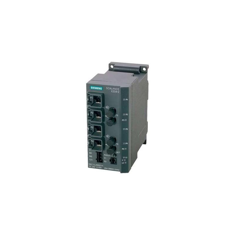 6GK5204-2BB10-2AA3 SIEMENS SIMATIC NET SCALANCE X204-2