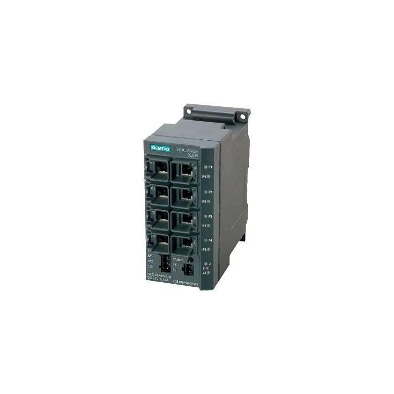 6GK5208-0BA10-2AA3 SIEMENS SCALANCE X208